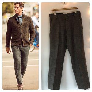 🥄GUC- Grey/ Beige/ Black Wool-Blend Dress Pants